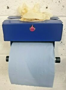 Workshop Blue Roll, Paper dispenser  with Latex / vinyl glove box holder