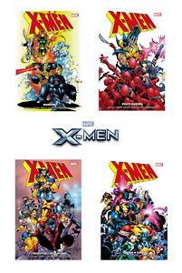 🟡 X-MEN SEAGLE & KELLY 2+3+4+5 SET 4 VOLUMI - PANINI COMICS 🚚 SPED. ESPRESSA✔