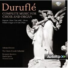 Complete works for Choir and organo 2 CD NUOVO Durufle, Maurice