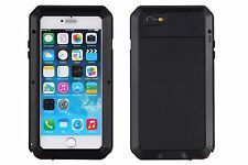 Shockproof Aluminum Glass Metal Case Cover for iPhone 5s 6 7 & Plus