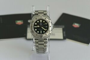 1994 TAG Heuer 1000M Super Professional Automatic Diver Watch Ref.840.006-2
