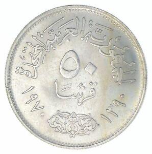 1970 Egypt 50 Qirsh - TC *829