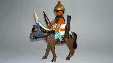 Playmobil Egypte Soldat Égyptien avec Cheval y Armes, Accessoires, Soldats, Rome