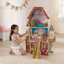 Barbie Dream House Doll Castle 3 Story Enchanted Mansion Furnished Dollhouse
