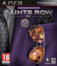 Saints Row IV Commander In Chief Edition PS3 Playstation 3 IT IMPORT DEEP SILVER
