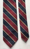 Striped Monsieur Pierre Design Classy Sharp Fancy 100% Silk Men's Neck Tie