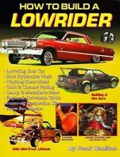 NEW!!!  How to Build a Lowrider (S-A Design), Hamilton, Frank