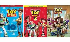Toy Story Trilogy DVD Complete Set 1 2 3  -Free shipping- BRAND NEW & SEALED!