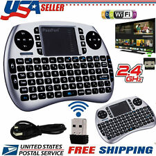 21S 2.4GHz Mini Wireless Backlit Keyboard TouchPad Mouse Android Smart TV Box PC