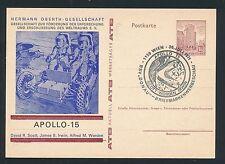 98723) Weltraum space Raketen Österreich Zudruck GA Apollo 15 SST 1971