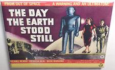 """Day the Earth Stood Still Movie Poster 2"""" x 3"""" Refrigerator Locker MAGNET #1"""