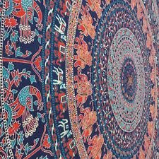 Indian Mandala Tapestry Hippie Wall Hanging Throw Bohemian Bedspread Twin Decor