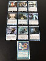 MTG EDH Commander Blue Staples Lot x10 (NM-LP) Stasis! Beacon of Tomorrows!+