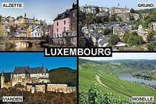 SOUVENIR FRIDGE MAGNET of LUXEMBOURG