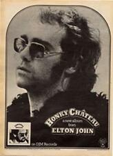 Elton John Honky Chateau LP advert Time Out cutting 1972