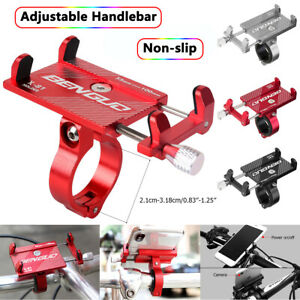 Aluminum Motorcycle Bike MTB Bicycle Holder Mount Handlebar For Cell Phone GPS
