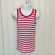 Girls 6/6X Red & White Stripe Racerback Tank Top  Twins?? I have 2 available