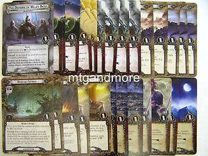 Lord of the Rings LCG  - 1x Encounter Set  #033-045 - Sarumans Verrat