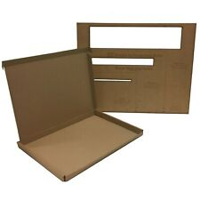 25 C4 A4 Large Letter Cardboard Postal Boxes Maximum Size PIP - 345 x 240 x 22mm