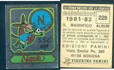 Figurina Calciatori Panini 1981-82 Scudetto Napoli n.229! Nuova con Velina!