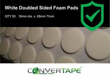 De Doble Cara Adhesiva almohadillas de espuma de 18 mm Dots Hoja De 50