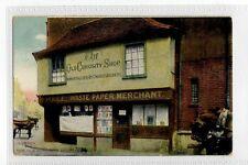 (Sd163-176) LONDON, The Old Curiosity Shop,  c1920 Unused, G,