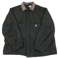 CARHARTT Quilted Chore Jacket | Work Workwear Vintage Duck Padded Canvas