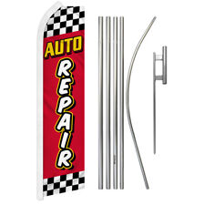 Pack of 3 auto Body /& Paint auto tinting Now Open King Swooper Feather Flag Sign Kit with Complete Hybrid Pole Set