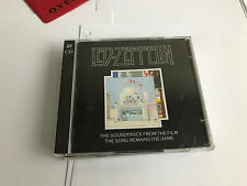 Led Zeppelin - The Song Remains The Same MINT GERMAN PRESS RED RING 2 CD