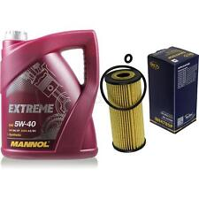 Ölwechsel Set 5L MANNOL Extreme 5W-40 + SCT Ölfilter Service KIT 10164300