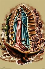 ODM INSPIRATIONAL RELIGIOUS VIRGIN MARY & EAGLE POSTER NEW 22x34 FREE SHIPPING