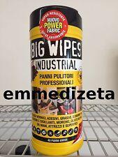 Big Wipes Industrial 40 Panni Pulitori Professionali, Tubo da 40 pz. Nuovo B2
