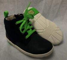 BNIB Clarks Boys Maxi Hehe Navy Leather First Boots F &G Fitting