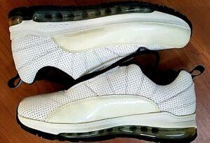 Jordan CMFT Air Max 12 Youth Kids White Black Shoes Sneakers Sz 7Y 428923-102
