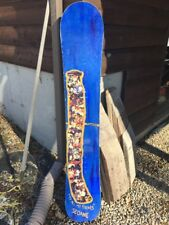 "Rare!! Vintage Rossignol ""To All My Friends"" Dave Seoane Snowboard 161cm"