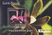 Guinea-Bissau block329 unmounted mint / never hinged 2001 Orchids