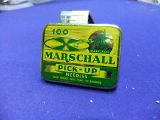 needle tin gramophone marschall pick up 100 advert advertising record player