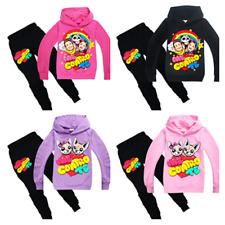 Me Contro Te Kids Boys Girls Cosplay Casual Hoodie Sweatshirt+Trousers Sets UK