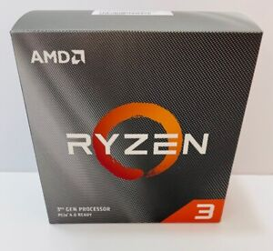 AMD Ryzen 3 3100 3.9GHz Quad Core AM4 CPU