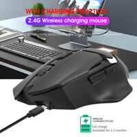 Wireless Mouse Backlight Rechargeable Optical Mice HXSJ T60 2400DPI 2.4GHz