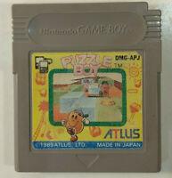 Puzzle Boy / Kwirk (Nintendo Game Boy GB, 1989) Japan Import