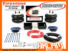 NISSAN NAVARA D40 4X4 DUALCAB ST-X 06-12 FIRESTONE AIR BAG SUSPENSION ASSIST KIT