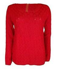 M&Co Women's Hip Length Long Sleeve Jumpers & Cardigans