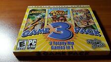 3 PC Casual Games Jungo + Jewel Quest + Little Farm