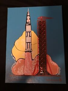 FREE SHIP J506570 ROCKET BLAST OFF APP 9X12 IN WOODEN PUZZLE JUDY INSTRUCTO