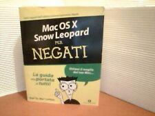 MAC OS X SNOW LEOPARD PER NEGATI -- OSCAR MONDADORI