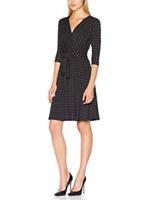 Yumi Star Print Dress Black/Magenta Size UK 12 DH091 BB 03
