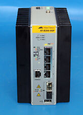 Allied Telesis At-Ie200-6Gp 4 Ports Manageable Ethernet Switch 4 Network/ *barel