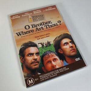 O Brother, Where Art Thou? (DVD PAL 2001) George Clooney John Turturro Region 4