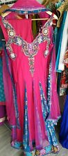 Pakistani Indian Salwar Kameez Lengha Eid Party Occassion Stitched Dress